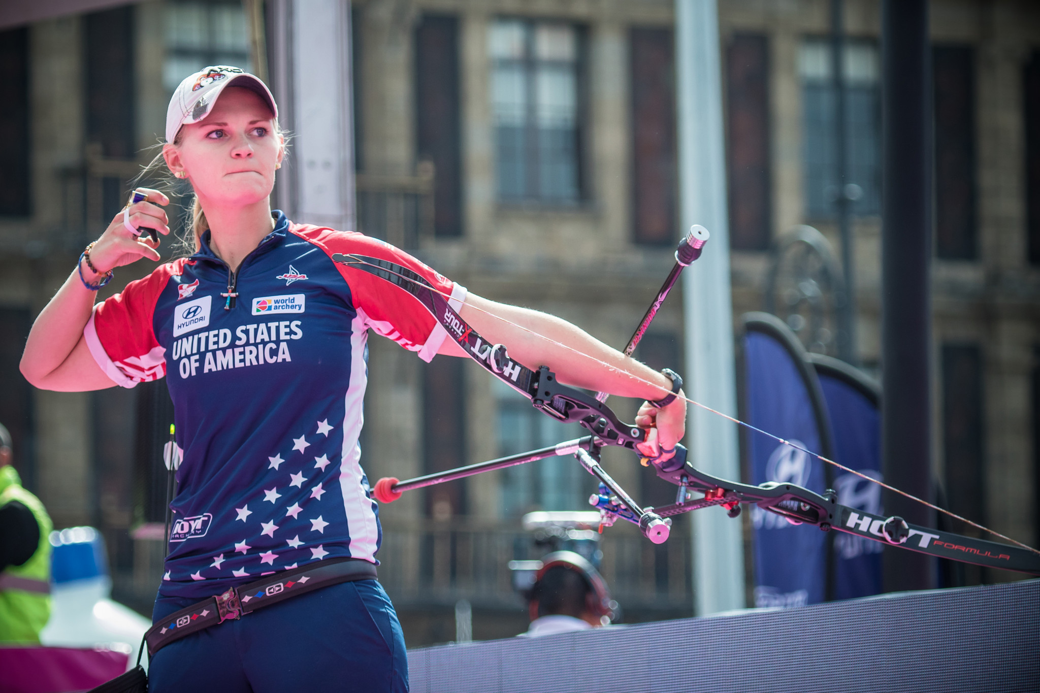America's Mackenzie Brown will be the favourite to take the women's recurve title in Bangkok ©Getty Images