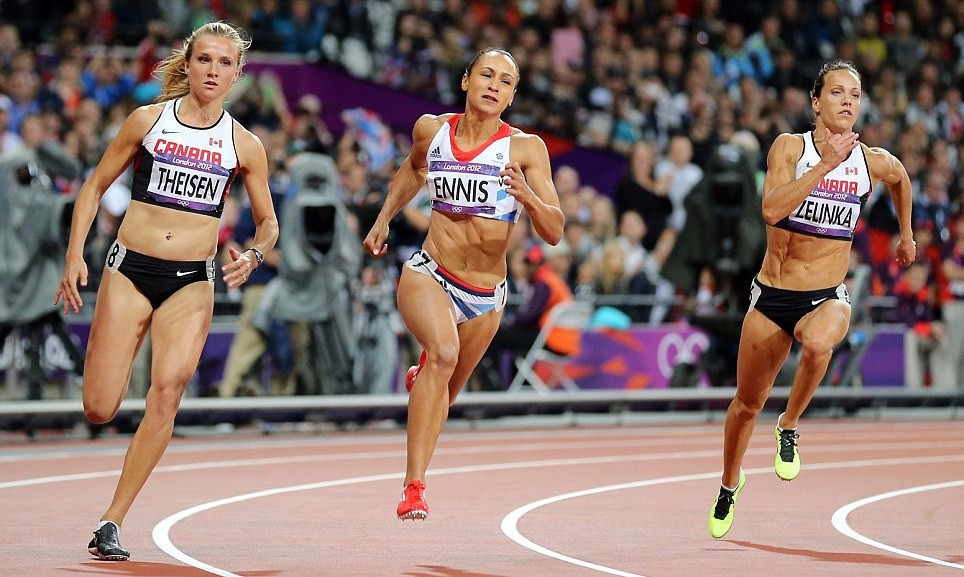 Britain's Jessica Ennis was among the stars when the Olympic Stadium hosted London 2012  ©Getty Images