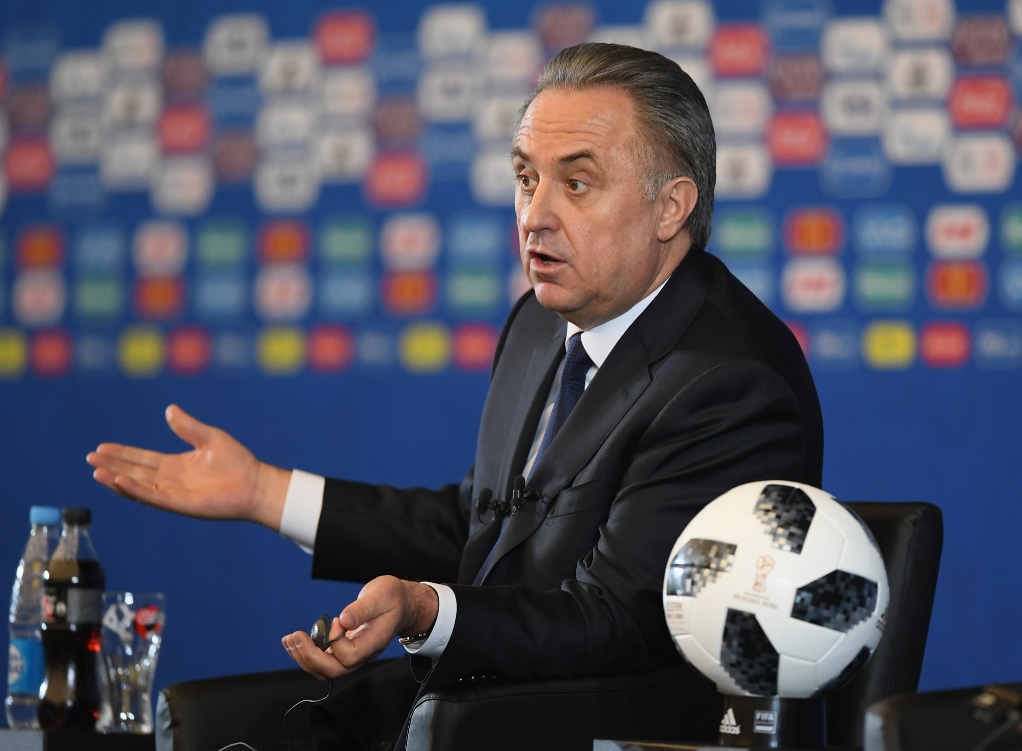 Russian Deputy Prime Minister Vitaly Mutko has called on the IOC to use their common sense in their impending decision on Russia ©Getty Images