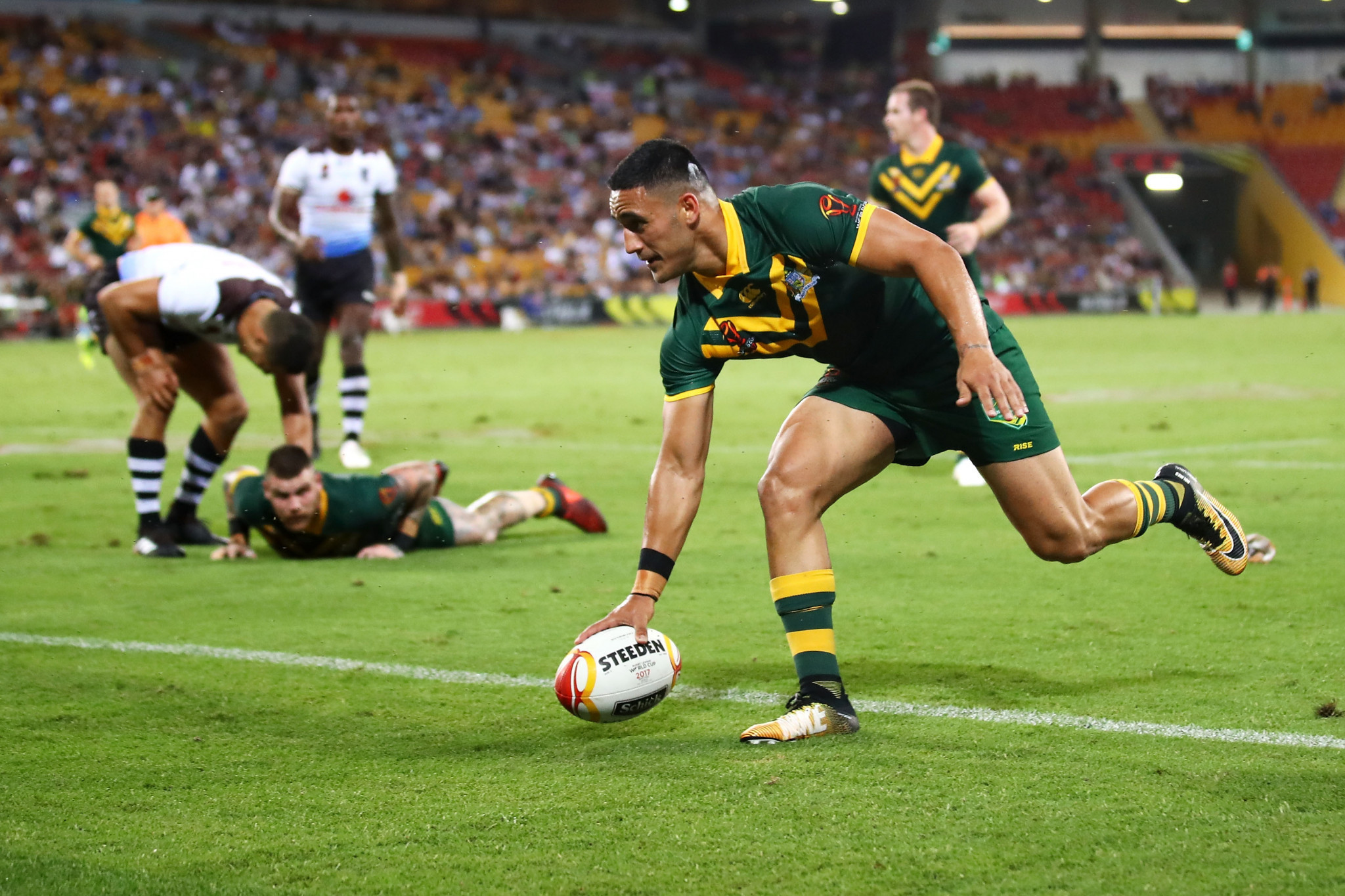 Australia will hope for two titles on Rugby League World Cup Final day tomorrow ©Getty Images