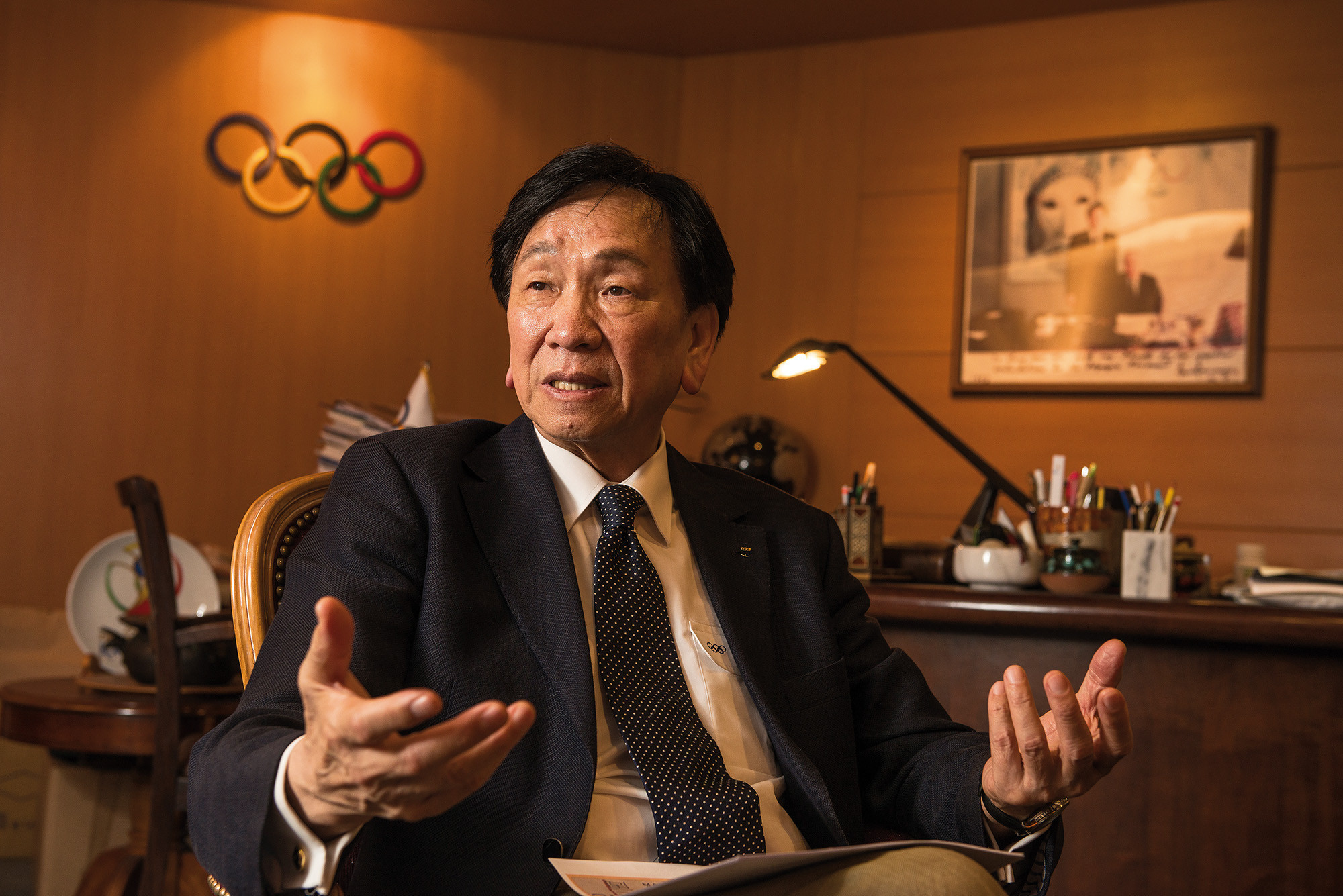 C K Wu has been forced to step down as President of AIBA after 11 years but history will judge him well  ©Government of Taiwan
