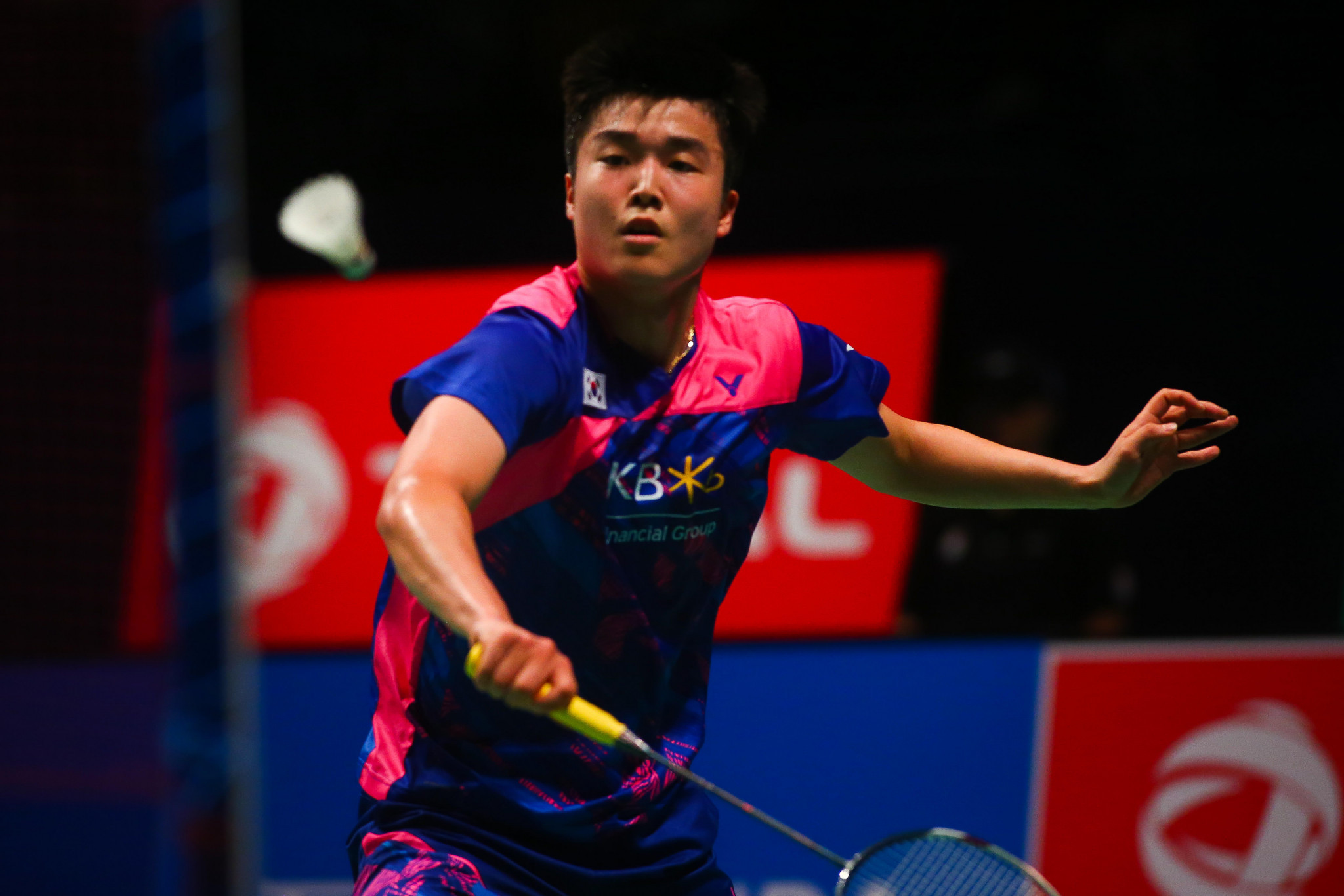 Hosts enjoy strong day in men's draw at BWF Korea Masters