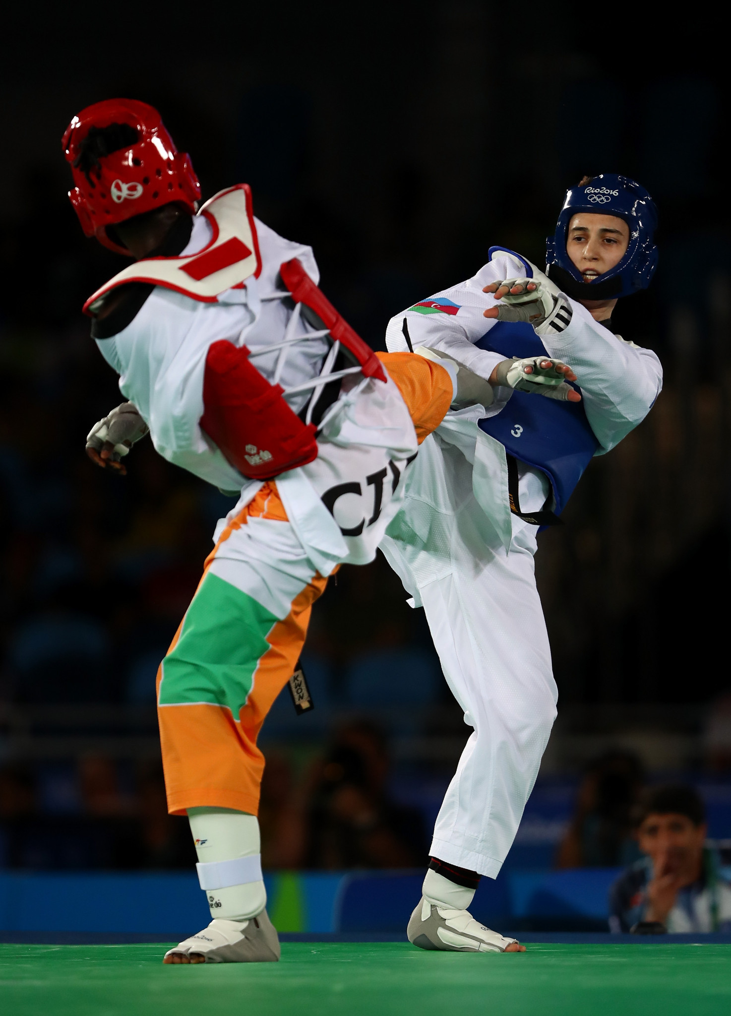 Ruth Gbagbi is another competitor hoping to impress for Ivory Coast on home soil ©Getty Images
