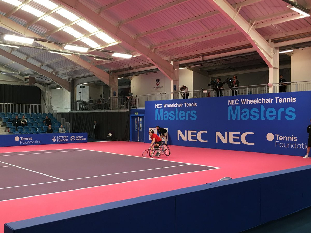 Paralympic champion Reid battles back to reach semi-finals of NEC Wheelchair Tennis Masters
