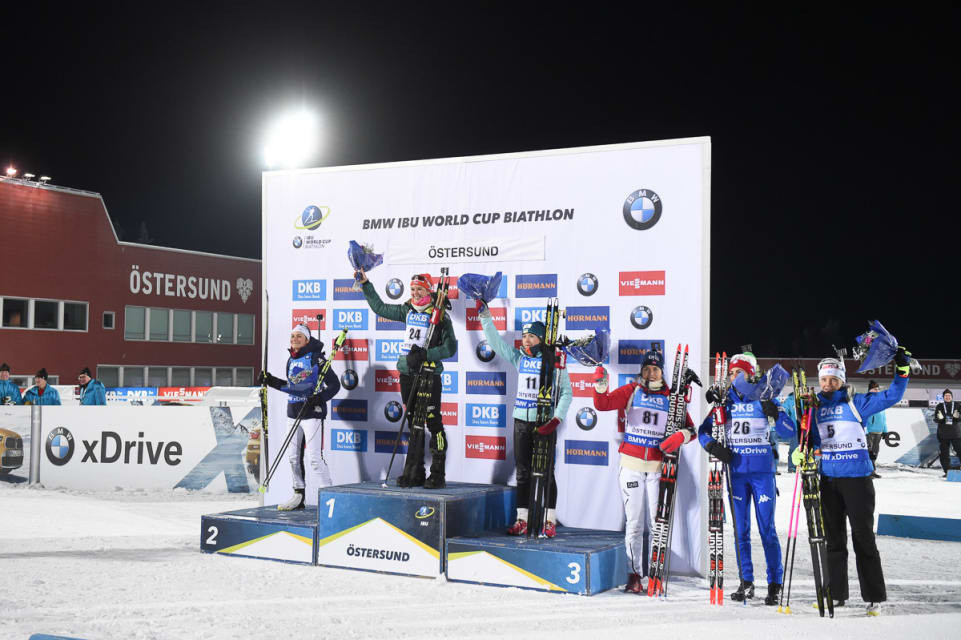 Germany's Denise Herrmann marked her 12th World Cup appearance with a confident victory ©IBU