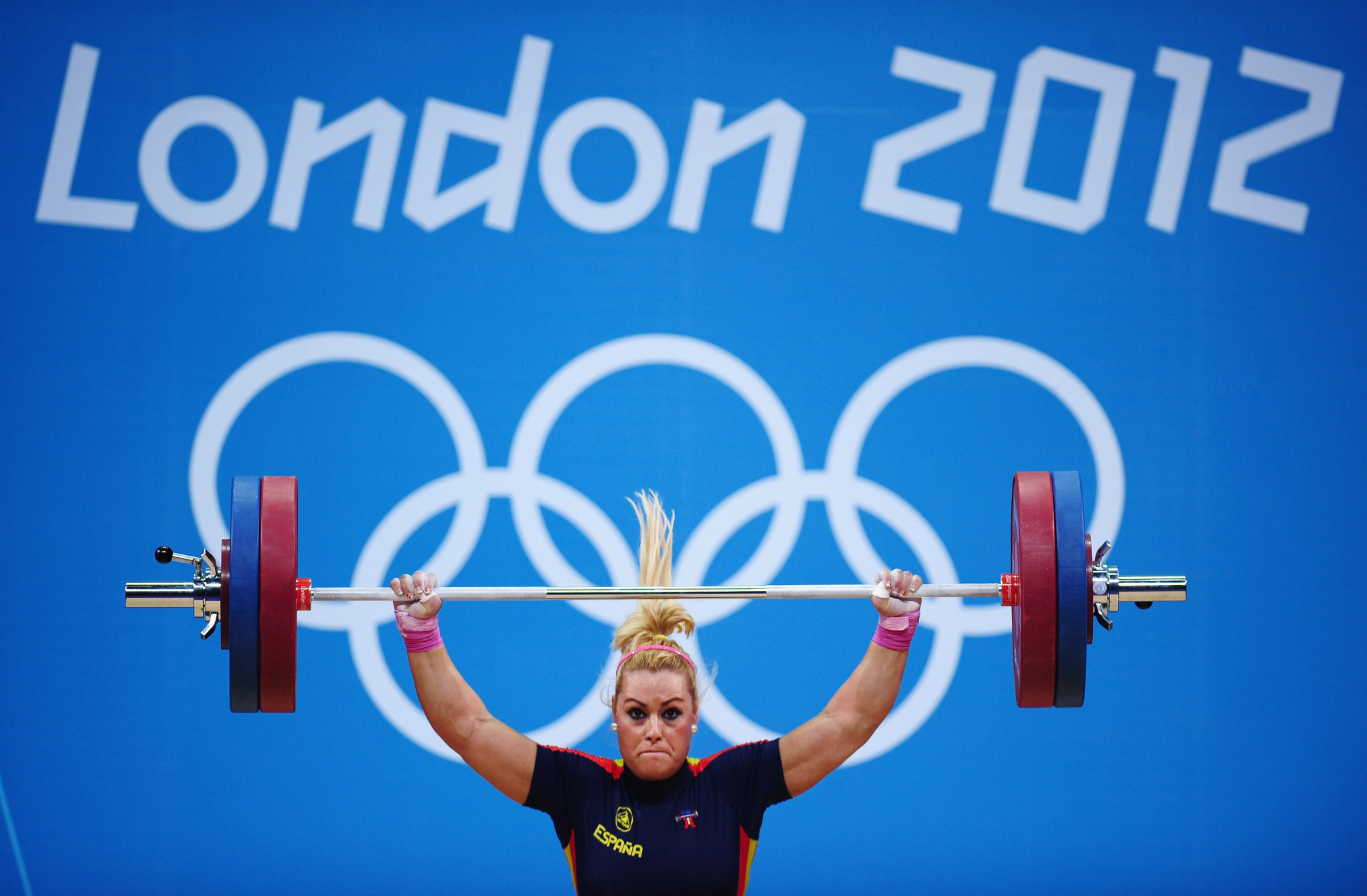 Spain's Lidia Valentín was upgraded to London 2012 Olympic gold ©Getty Images