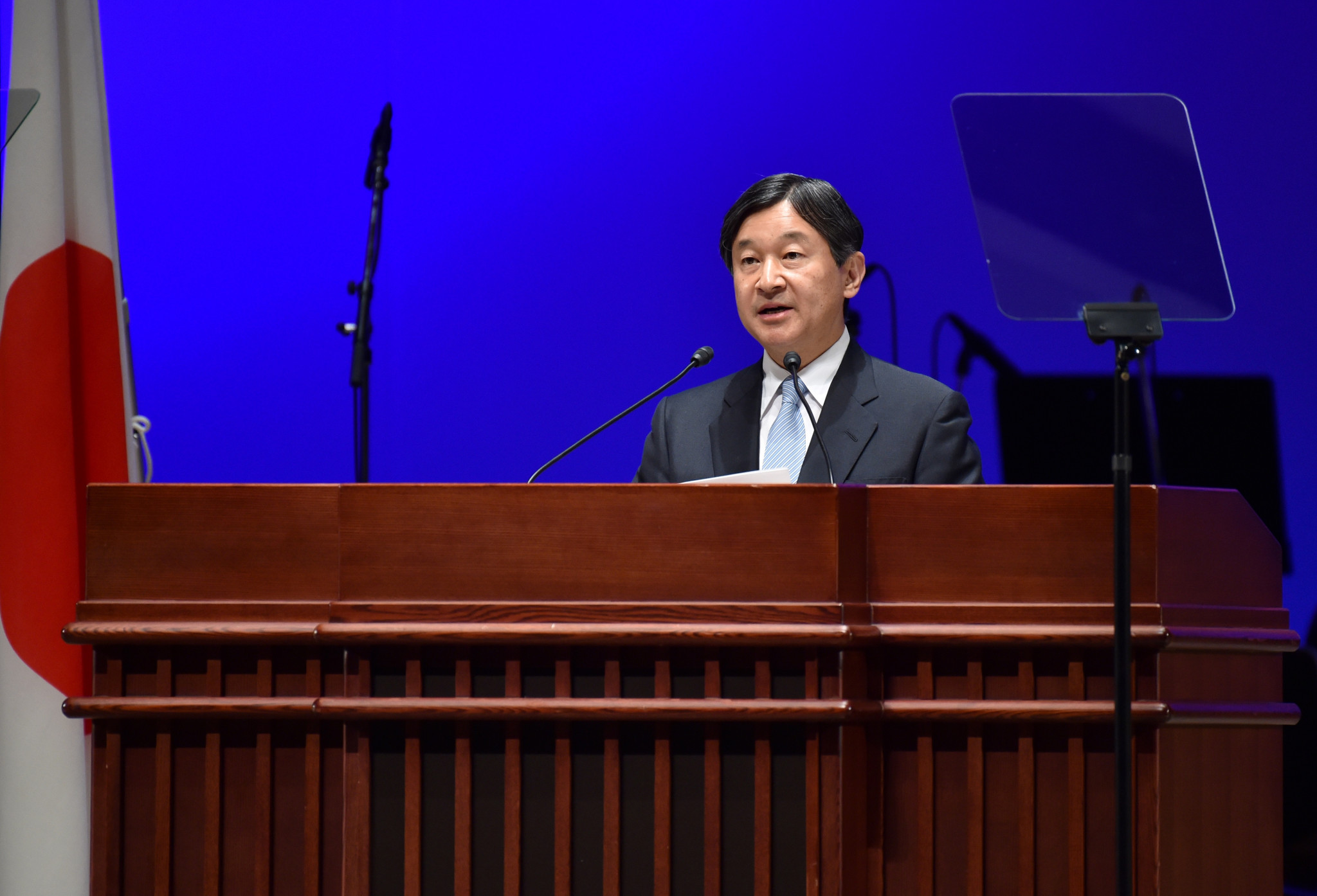 Japanese Crown Prince Naruhito is now in line to open Tokyo 2020 ©Getty Images