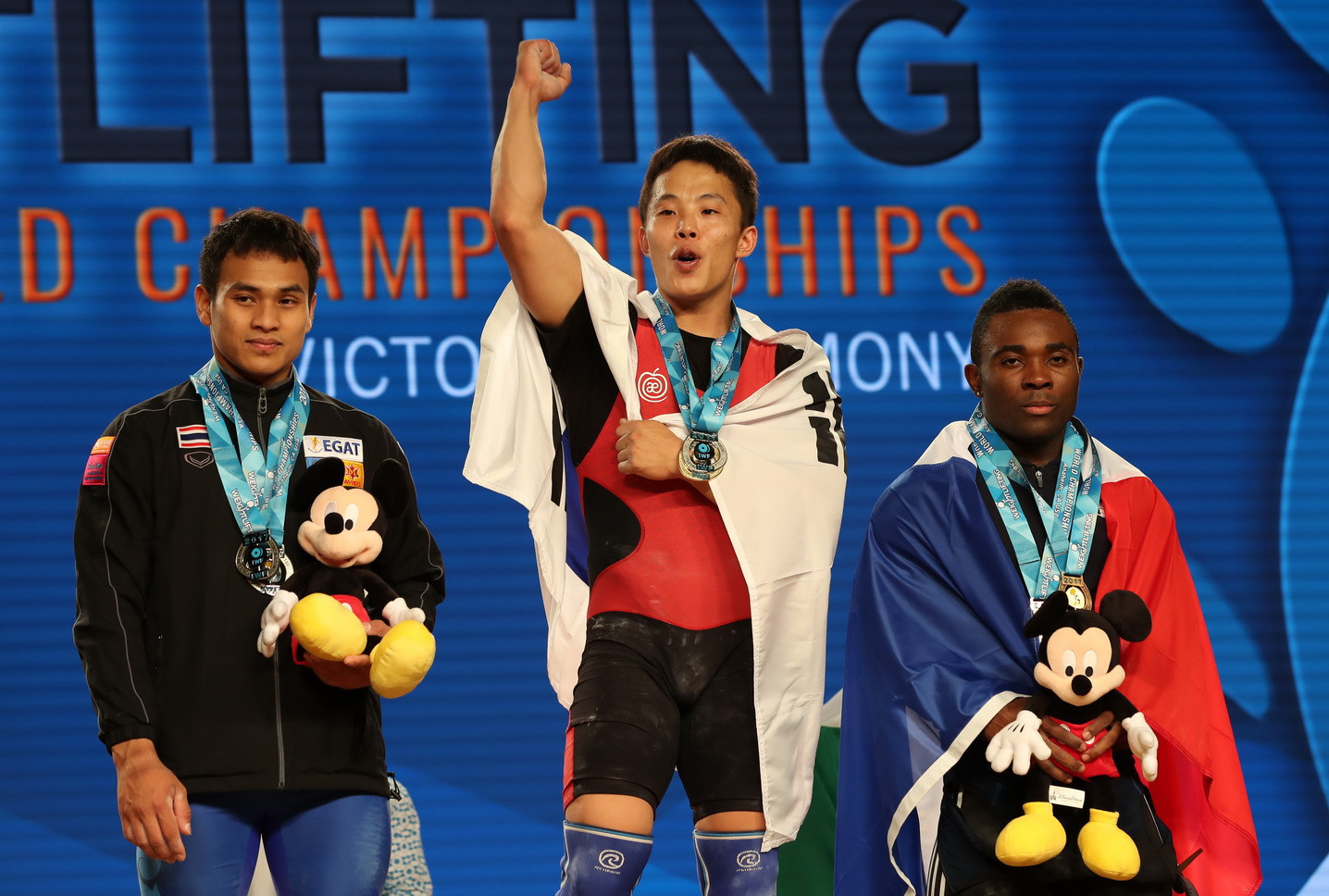 South Korea's Won claims men's 69kg title as home hope Cummings Jr bombs out at 2017 IWF World Championships