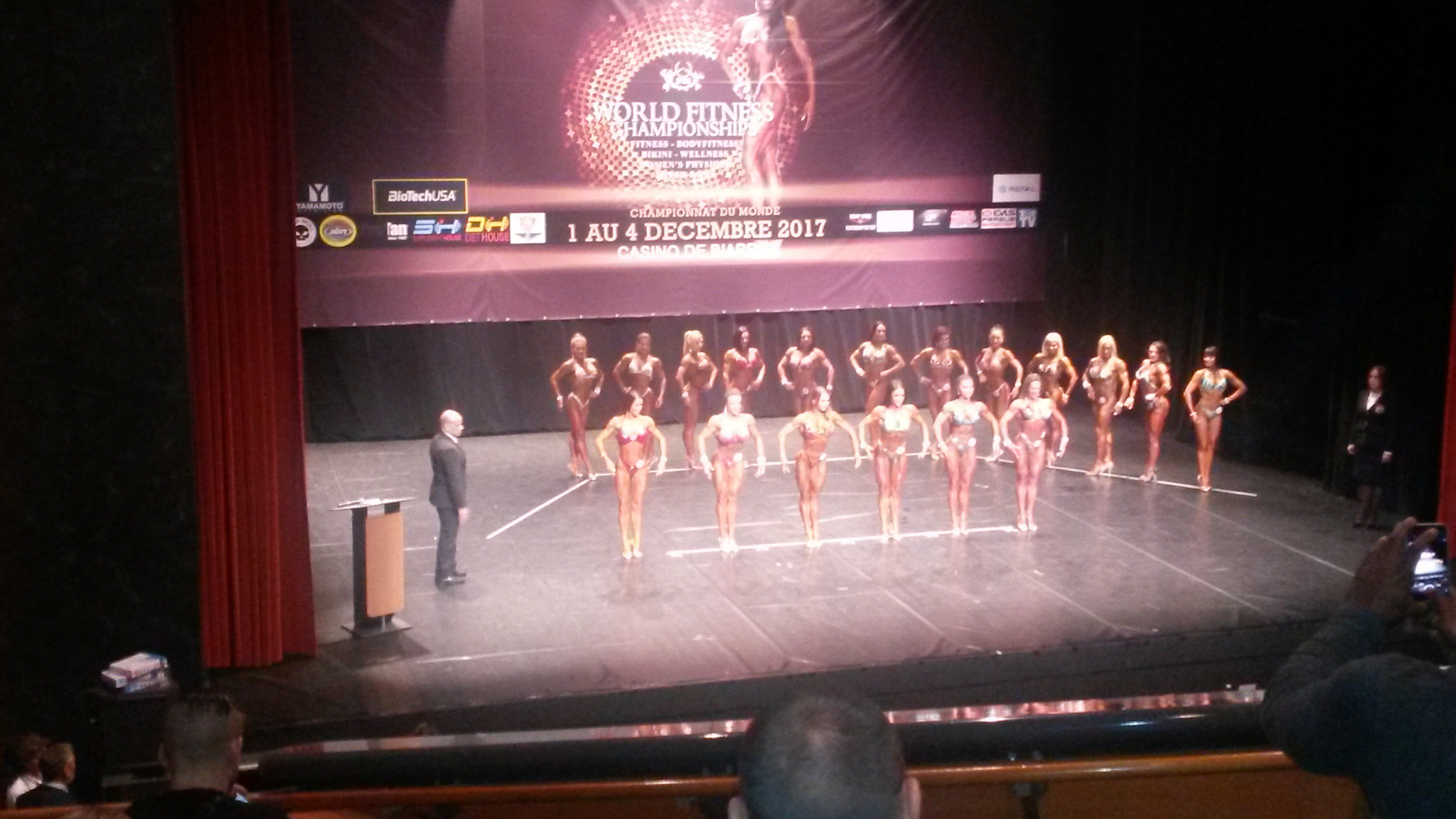insidethegames reporting LIVE from the 2017 IFBB World Fitness Championships in Biarritz