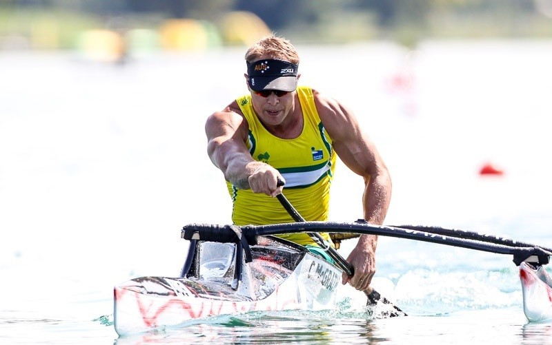 Curtis McGrath claimed gold and silver on day two of the Championships