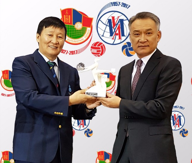 Mongolian official honoured with Sport Beyond Borders prize