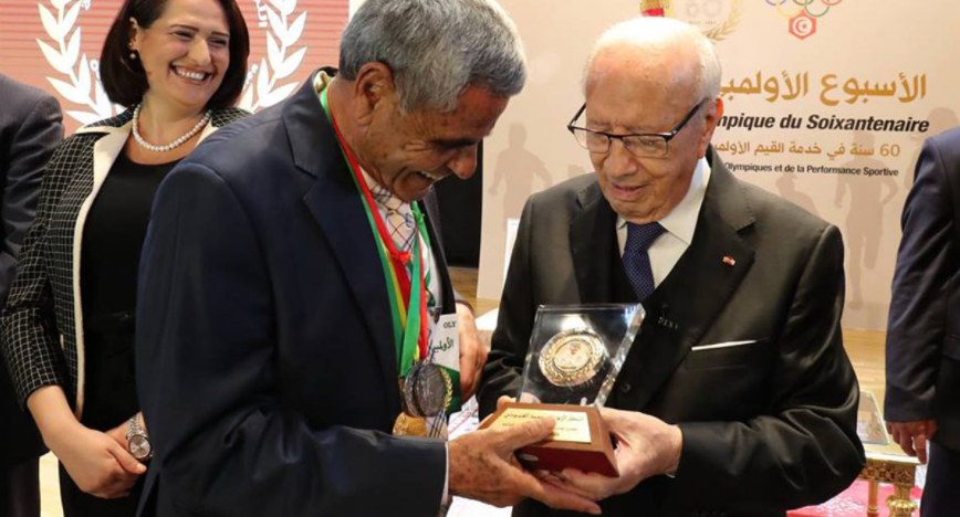 Tunisian President joins National Olympic Committee's 60th anniversary celebrations