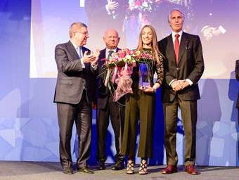 Italian cyclist Paternoster voted best young athlete by European Olympic Committees