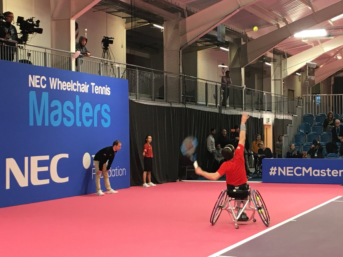 Paralympic champion Reid to face Hewett for NEC Wheelchair Masters title in repeat of Rio 2016 final