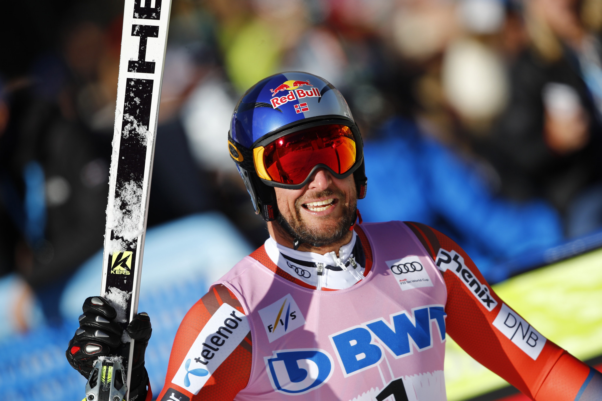 Svindal tops men's downhill podium at FIS Alpine Skiing World Cup in Beaver Creek