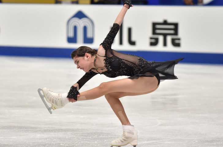 Evgenia Medvedeva of Russia will defend her title at the ISU Grand Prix final in Nagoya this week ©Getty Images