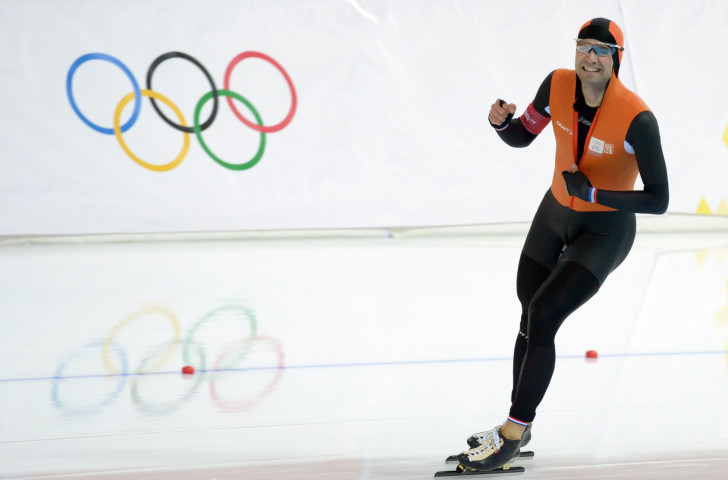 Dutch speed skater Mark Tuitert, winner of Olympic gold over 1500m at the 2010 Winter Games in Vancouver, has challenged the ISU's position on competitors taking part in unauthorised commercial events ©Getty Images