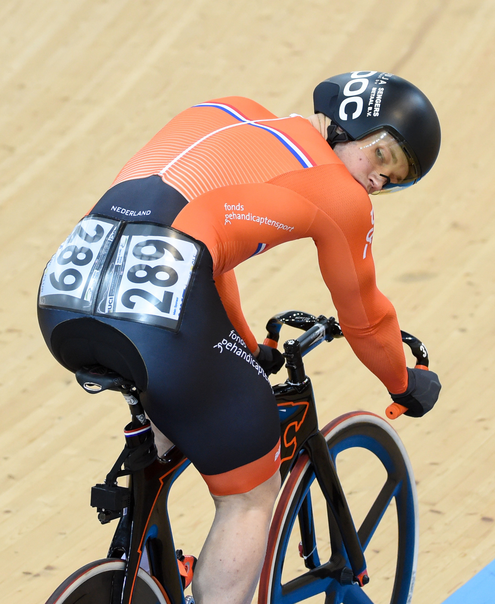 Harrie Lavreysen, of The Netherlands ©Getty Images
