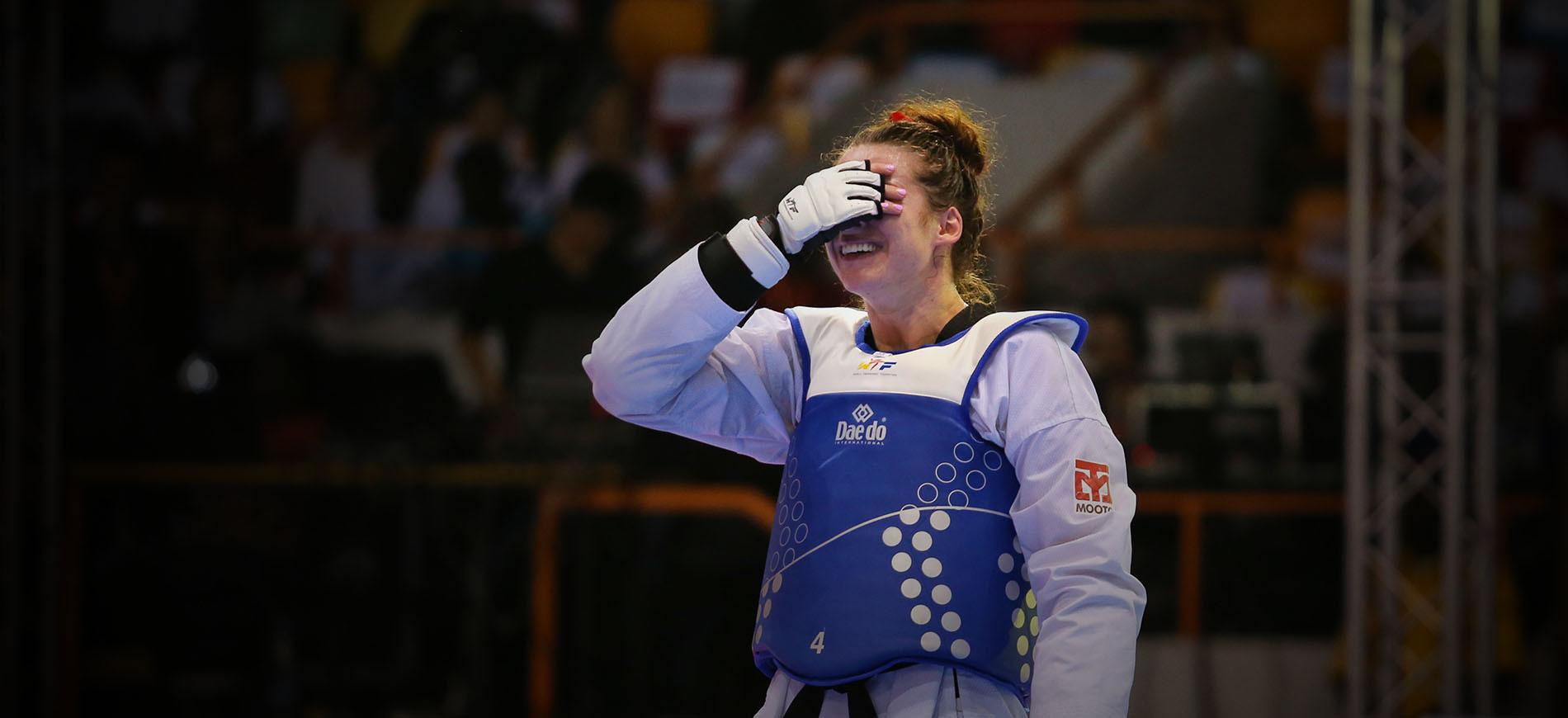 Bianca Walkden capped a brilliant season with victory ©World Taekwondo