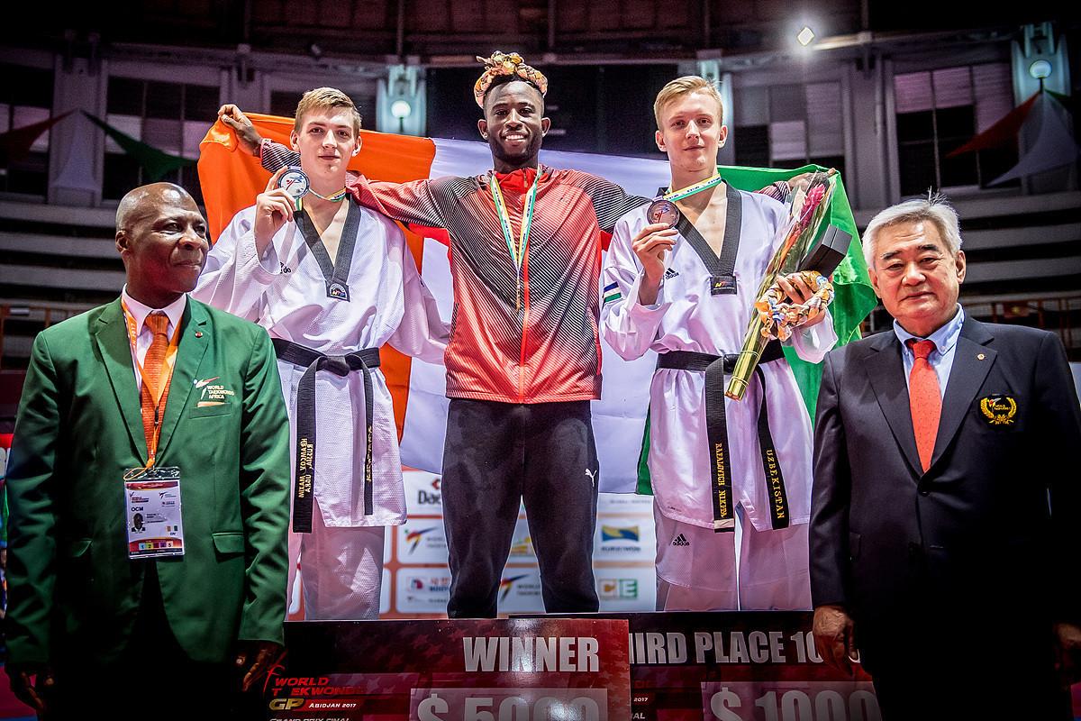 Cissé battles to home win at World Taekwondo Grand Prix Final