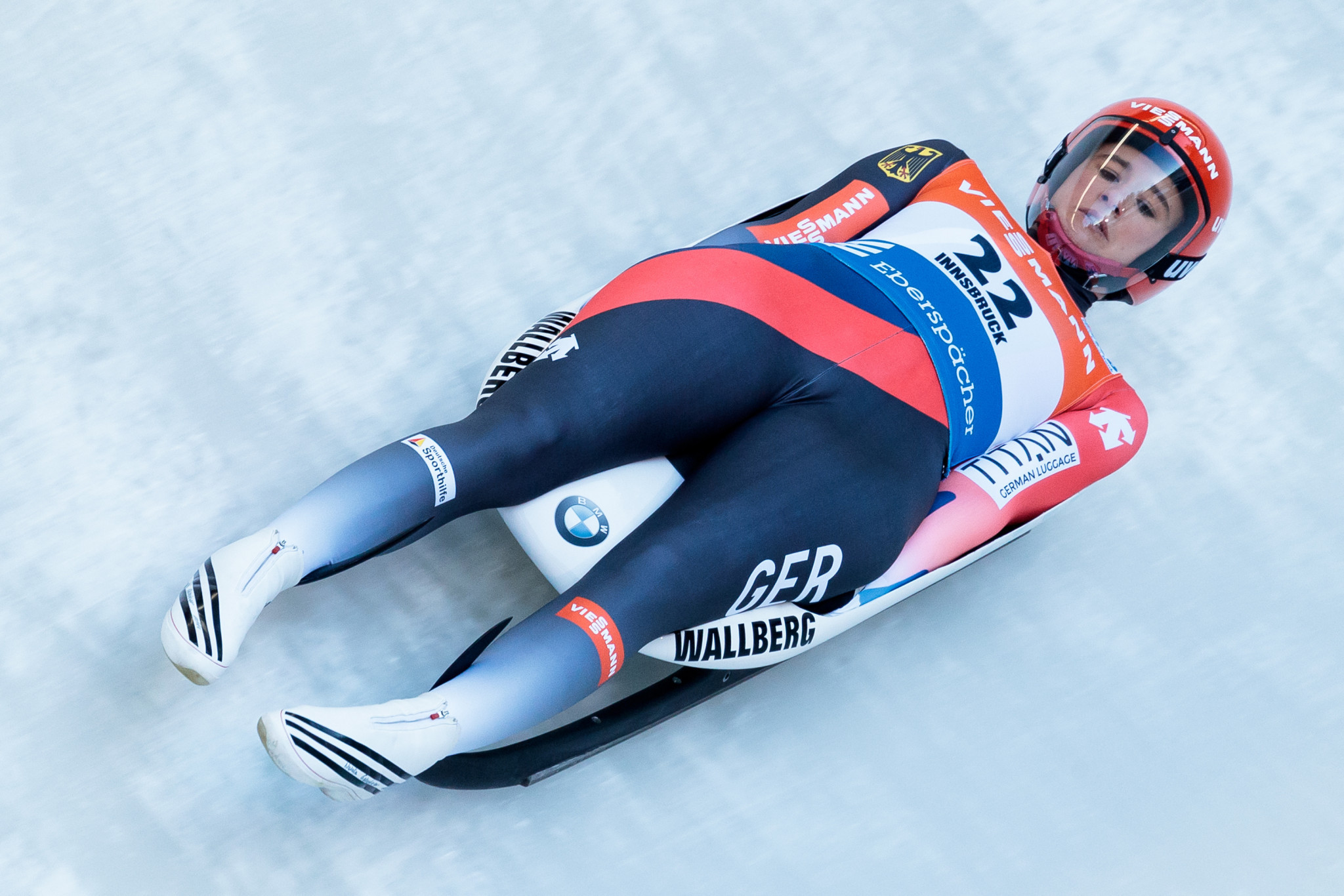 Geisenberger takes gold as Germany secure clean sweep of medals at Luge World Cup