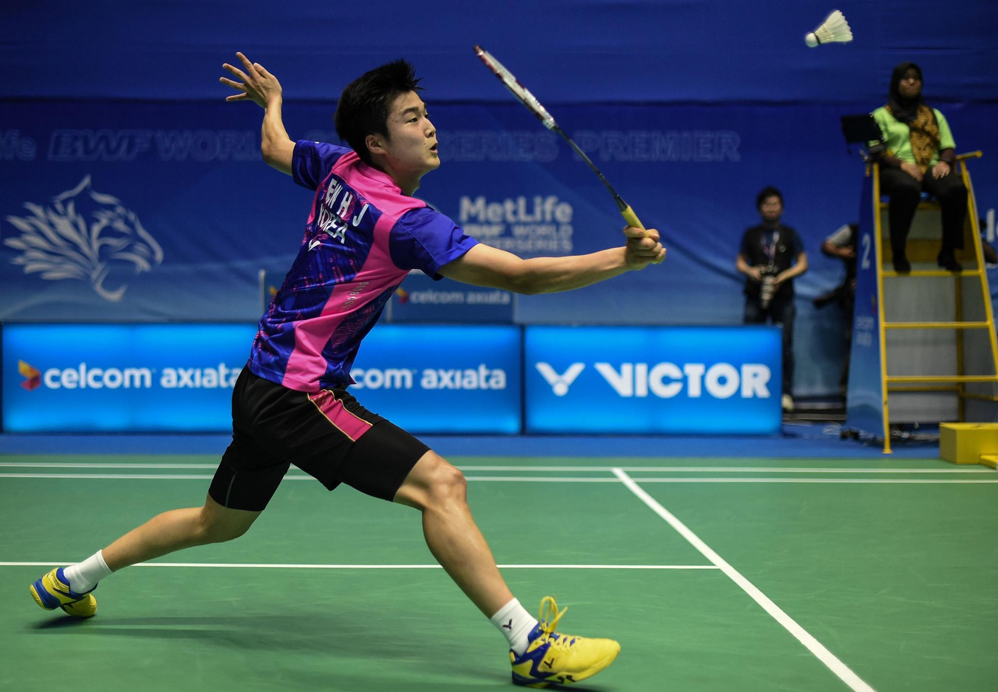 Jeon wins nervy men's singles final to secure BWF Korea Masters title