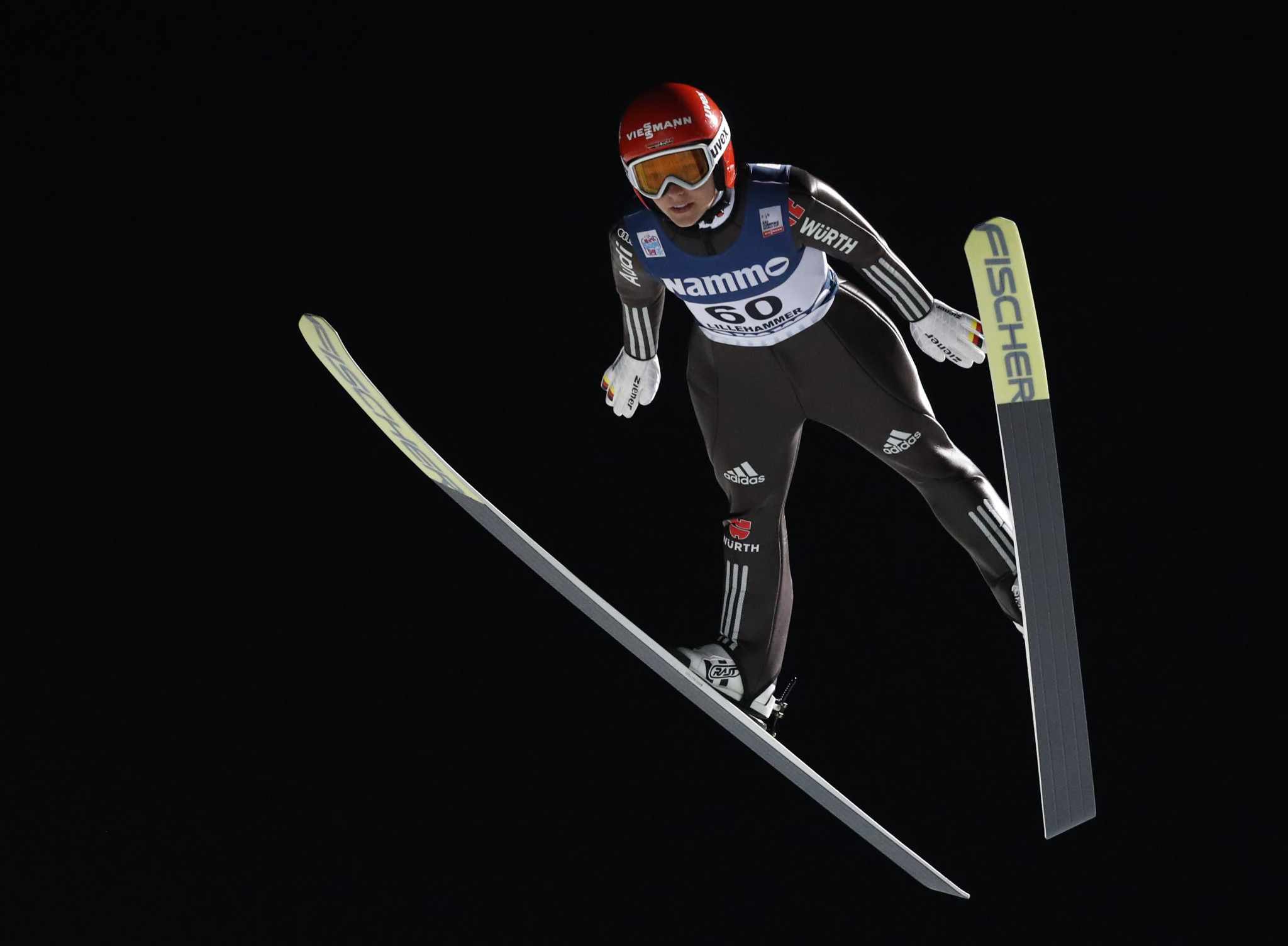Althaus claims second straight win at FIS Ski Jumping World Cup