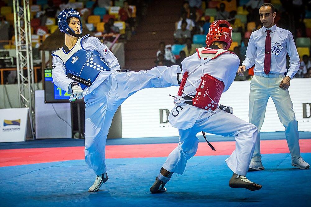 Lee captures third consecutive World Taekwondo Grand Prix Final title in Abidjan