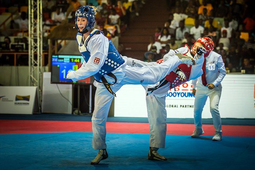 Britain's two-time Olympic gold medallist Jade Jones won the women's under 57kg event ©World Taekwondo