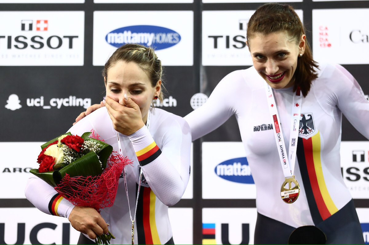 Vogel claims two golds on final day of UCI Track World Cup in Milton
