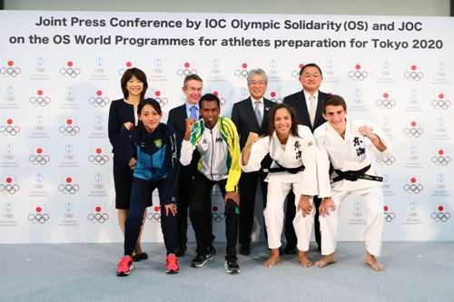 Programme launched by JOC and IOC to help overseas athletes prepare for Tokyo 2020