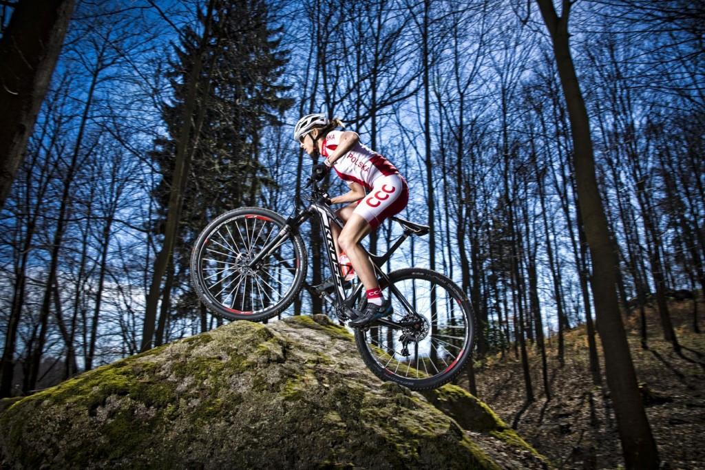 Mountain bike star Włoszczowska revealed as latest Baku 2015 ambassador