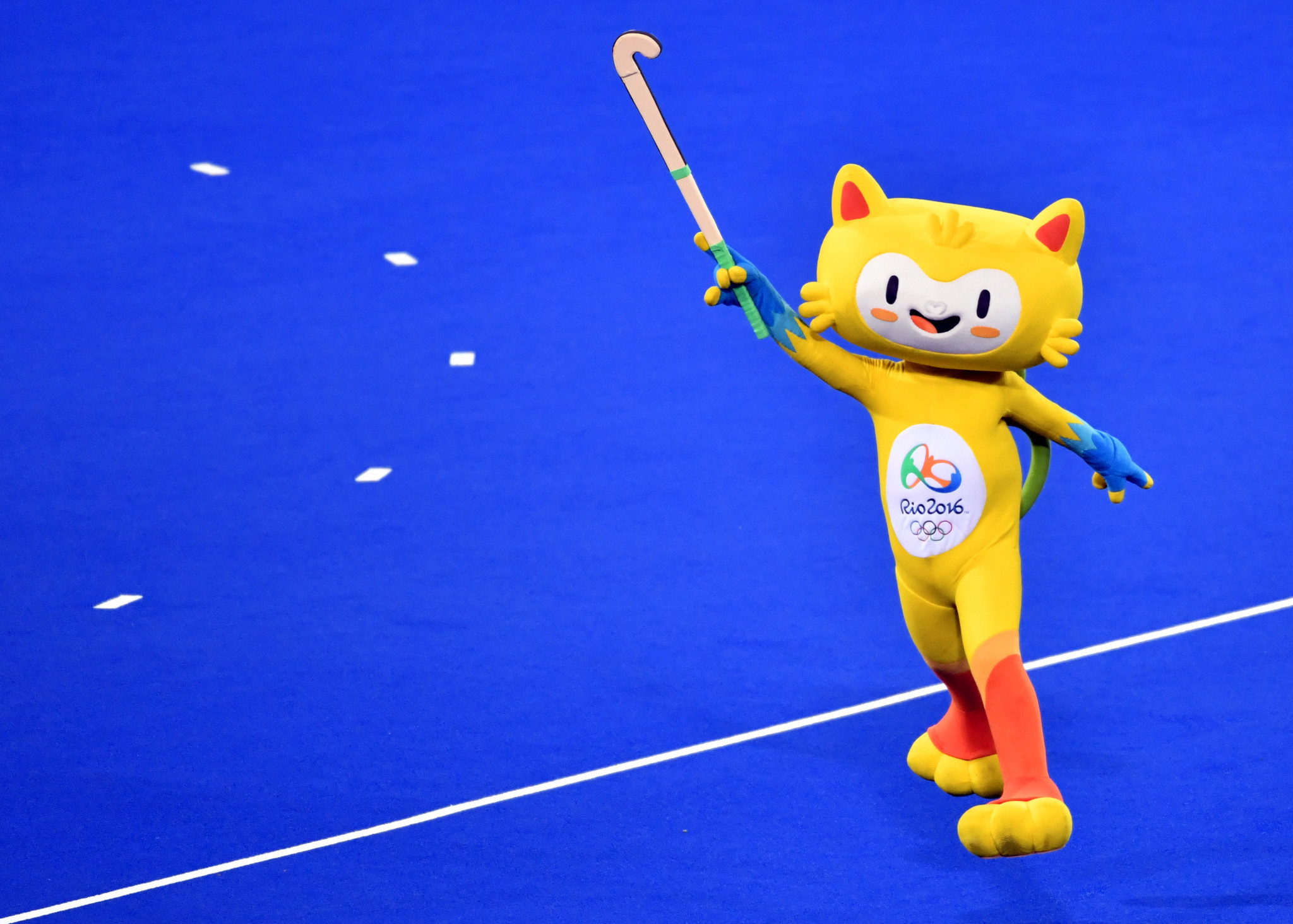 The chosen design would follow on from Vinicius, the Olympic mascot of Rio 2016 ©Getty Images