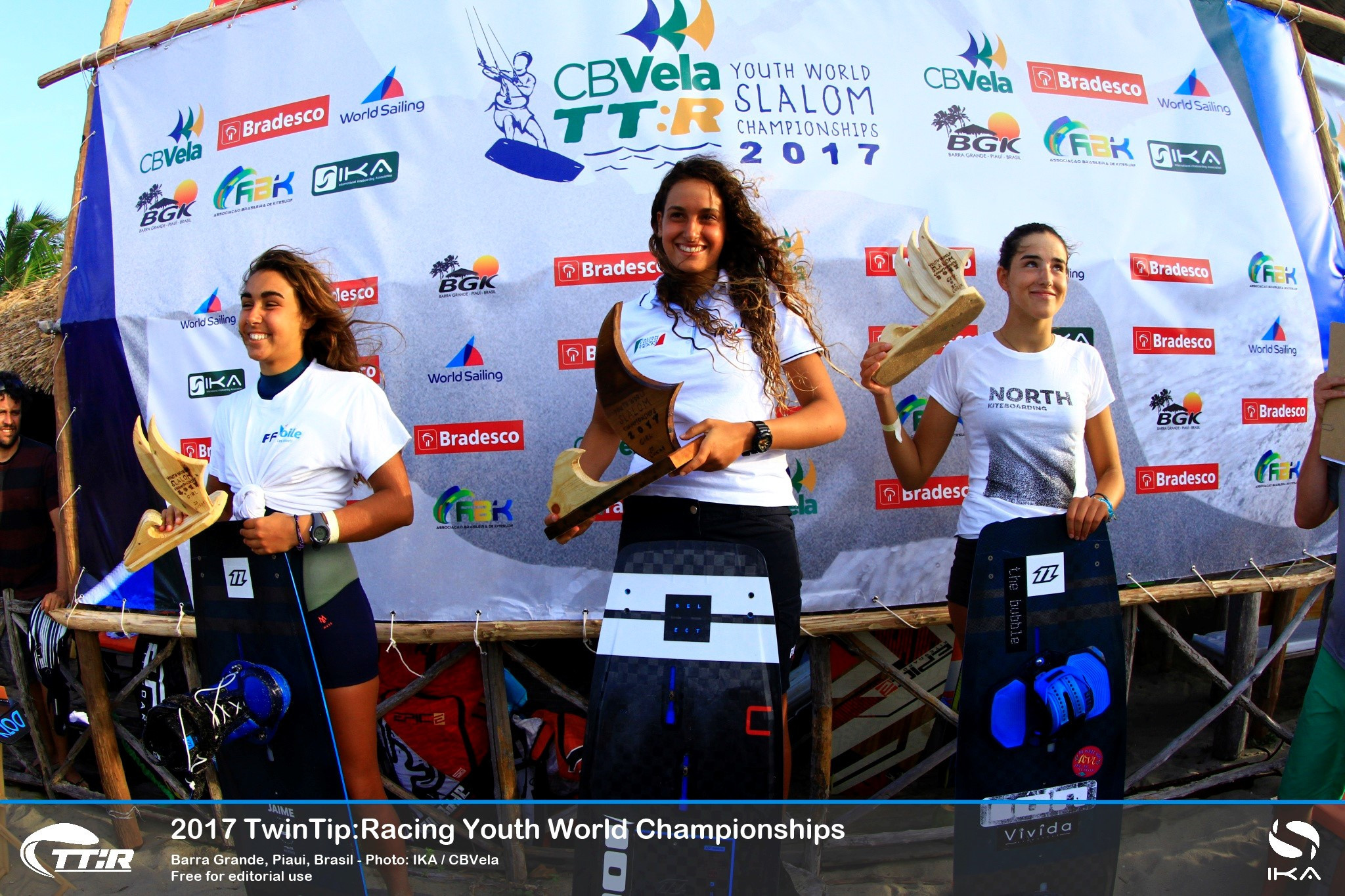 Europeans dominate youth kiteboarding championships in Brazil