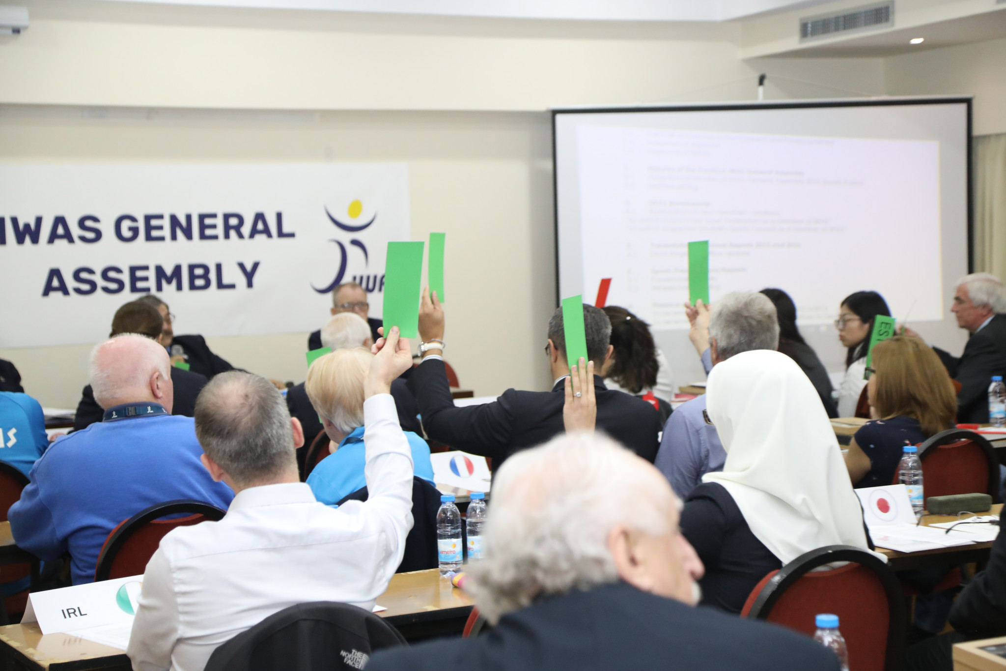 The decisions were taken at the IWAS General Assembly ©IWAS