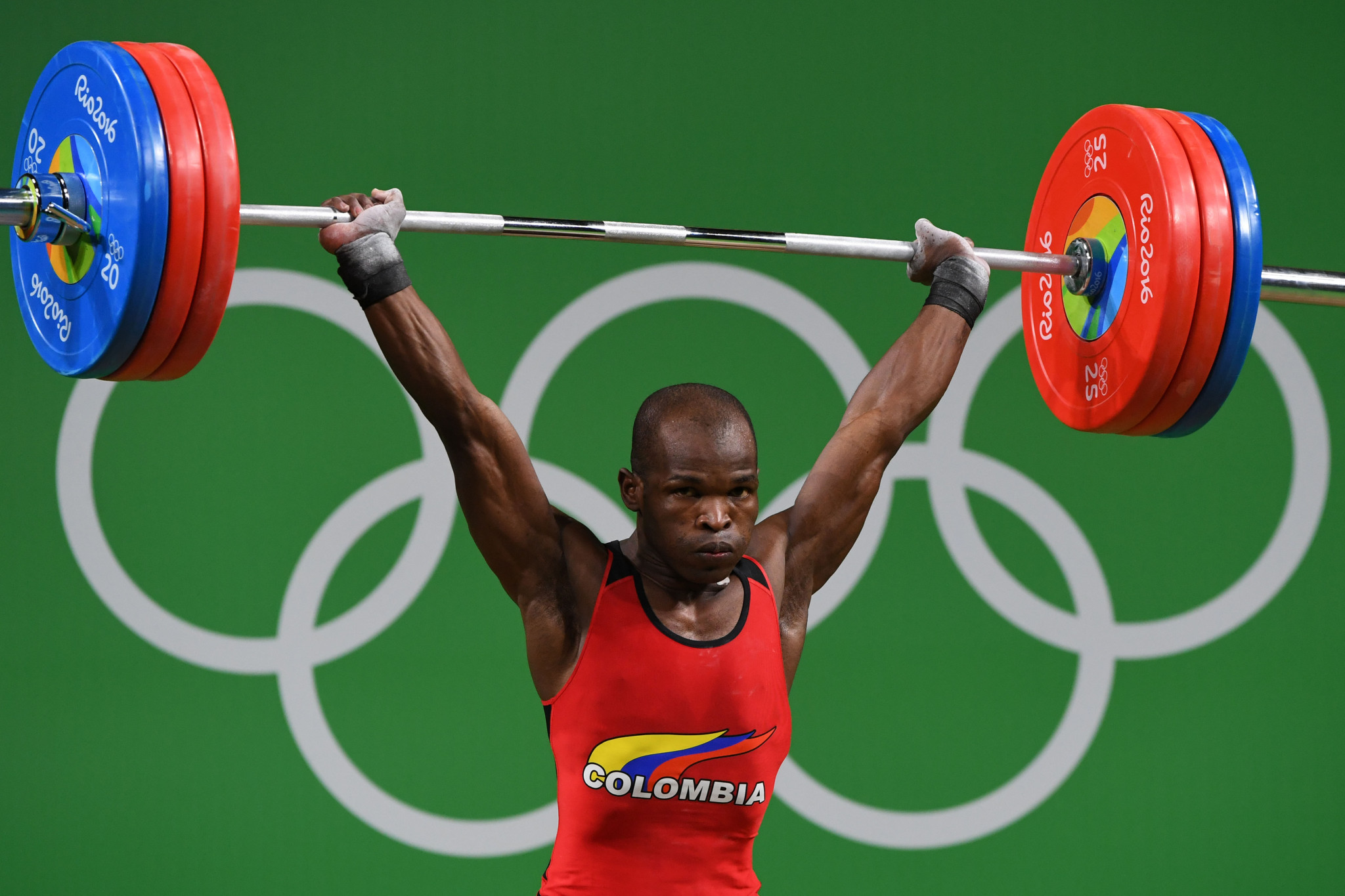 Olympic weightlifter Edwin Mosquera Roa has died after being shot in the Colombian city of Palmira ©Getty Images