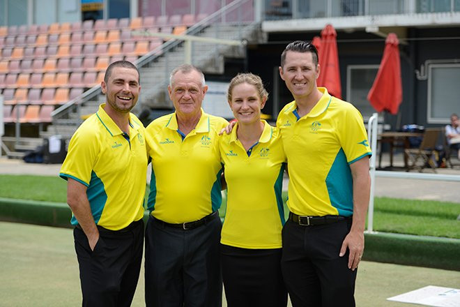 Commonwealth Games Australia announce 17-strong lawn bowls team for Gold Coast 2018