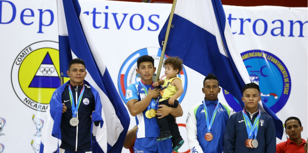 Hosts enjoy weightlifting and wrestling success on opening day of Central American Games