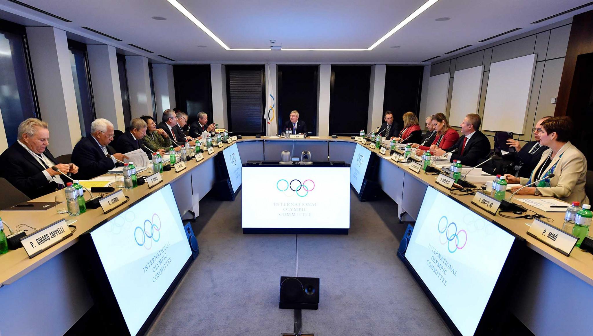 The crucial IOC Executive Board meeting has begun in Lausanne ©IOC