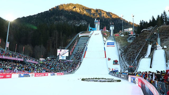 Ski jumping tournament tickets selling faster than ever for Four Hills event