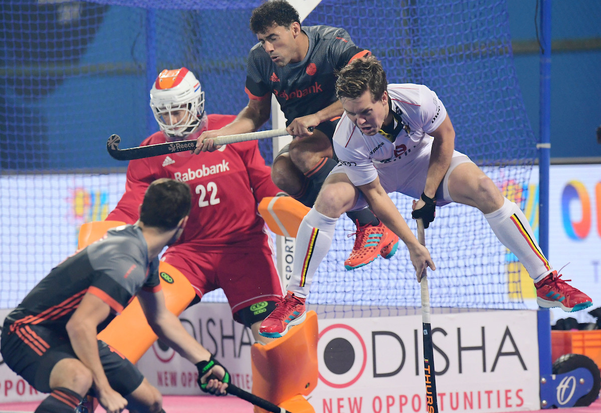 Belgium win Pool A as Spain stun Olympic champions Argentina at Men's Hockey World League Final