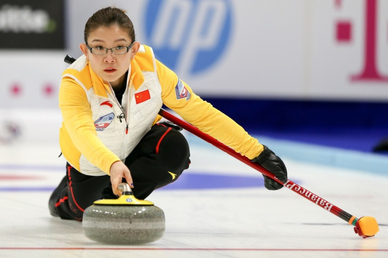 Chinese skip Bingyu Wang guided her side to an extra-end victory over hosts the Czech Republic ©World Curling