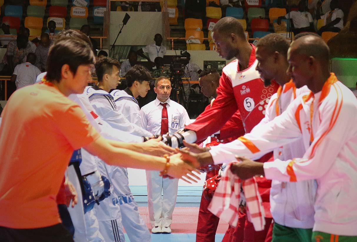 Hosts Ivory Coast among countries through to  World Taekwondo Team Championships men's semi-finals