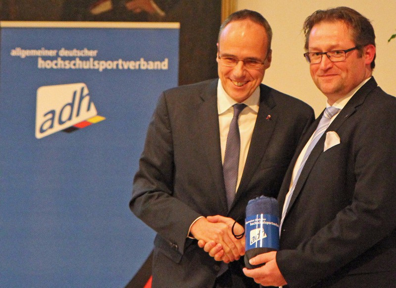 Förster elected as German University Sports Federation chair at General Assembly