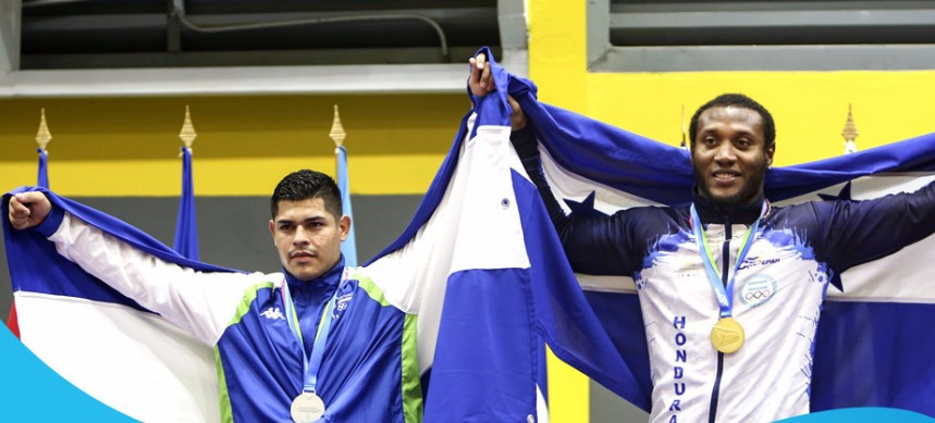 Honduras enjoyed a successful day in the wrestling competitions ©Managua 2017