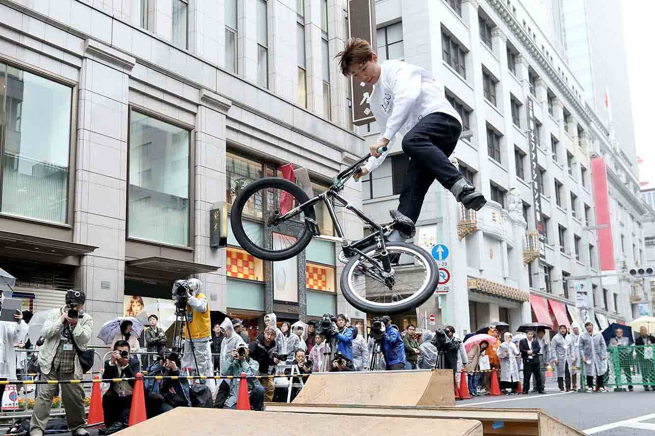 BMX freestyle will be among three disciplines held in Ariake district in the Tokyo Bay Zone ©Tokyo 2020