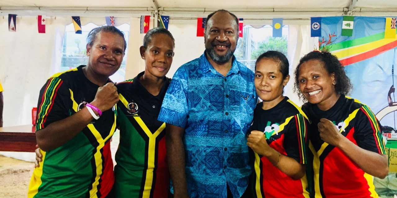 Double table tennis delight for hosts Vanuatu at Pacific Mini Games