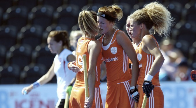 Hoog hits hat-trick as The Netherlands' women thump Poland in EuroHockey Championships opener