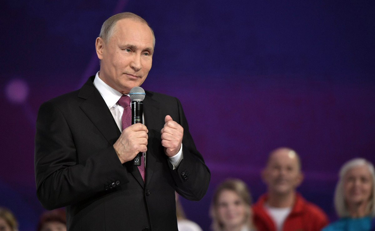 Vladimir Putin has revealed that he will not be trying to prevent Russian athletes from taking part under a neutral flag at Pyeongchang 2018 ©Twitter