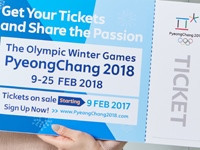 Pyeongchang 2018 want to have sold 90 per cent of tickets before start of Winter Olympic Games